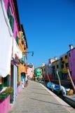 Île de Burano images stock