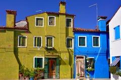 Île de Burano images libres de droits