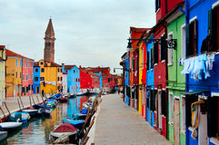 Île de Burano/de Venise photos libres de droits