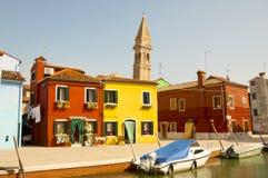 Île de Burano, Venise, Italie Photo libre de droits