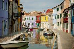 Île de Burano, Venise, Italie Images stock