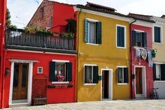 Île de Burano, Venise, Italie Photographie stock