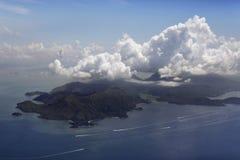 île de côte de bali Photos stock
