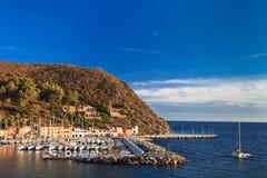 Île de Capraia, Italie images stock