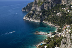Île de Capri Photos stock