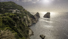 Île de Capri Photo stock
