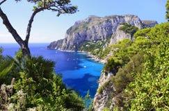 Île de Capri - Campanie, Italie Images libres de droits