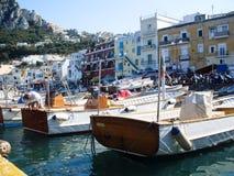 Île de Capri en Italie Photos libres de droits