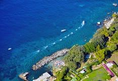 Île de Capri, Italie Photo stock