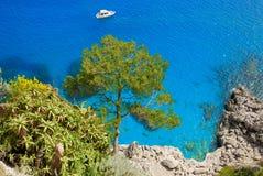 Île de Capri, Italie Photos libres de droits
