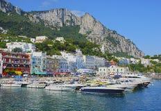 Île de Capri, Italie Photographie stock libre de droits