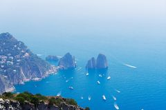 Île de Capri, Italie photo stock