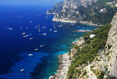 Île de Capri, Italie, l'Europe Images stock