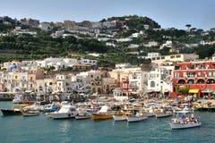 Île de Capri, Italie, l'Europe, golfe de Naples, Photos libres de droits