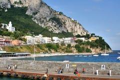 Île de Capri, Italie, l'Europe, golfe de Naples, Image stock