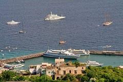 Île de Capri, Italie, l'Europe, golfe de Naples, Image libre de droits