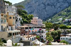 Île de Capri, Italie, l'Europe, golfe de Naples, Images libres de droits