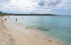 Île de Catalina - Playa de la isla Catalina - mer tropicale des Caraïbes Image libre de droits
