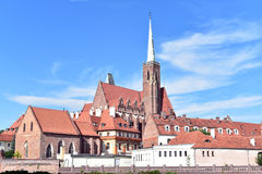 Île de cathédrale, Wroclaw images stock