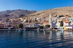 Île de Chalki, Grèce Photographie stock