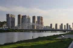 Île de changbai de Shenyang Photos stock