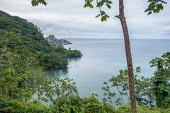 Île de Cocos de baie de Catham photos libres de droits