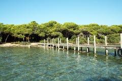 Île de Coniglio Photo stock