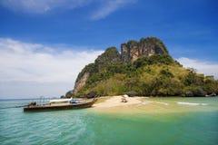 Île de corail, Phuket Image libre de droits
