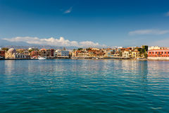 Île de Crète, Chania, Grèce - 6 septembre 2016 Vue du p images libres de droits