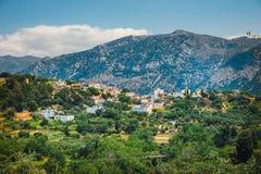 Île de Crète en Grèce, paysage crétois photos stock