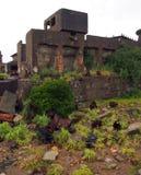 Île de cuirassé de Gunkanjima à Nagasaki Japon Image stock