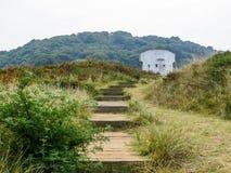 Île de débardeur, Îles Anglo-Normandes photo libre de droits
