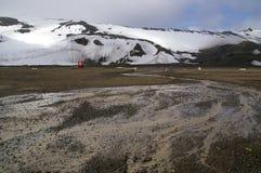 Île de déception, Antarctique Image libre de droits