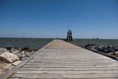 Île de dauphin chez l'Alabama mobile image libre de droits
