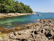 Île de ¡ de Paquetà - DOS Reis d'Angra Photos libres de droits