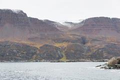 Île de Disko au Groenland Photographie stock