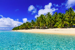 Île de Dravuni, Fidji Images libres de droits