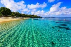 Île de Dravuni, Fidji Image stock