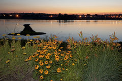 Île de flèche sur le Mississippi Photo libre de droits
