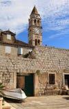 Île de force (Croatie) Photographie stock
