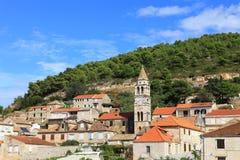 Île de force (Croatie) Image libre de droits