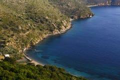 Île de Fourni Photo libre de droits