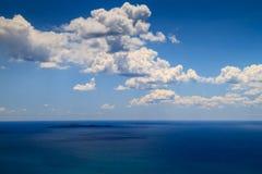 Île de Giannutri de la Toscane Images libres de droits