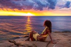 Île de Giglio, Italie Images libres de droits