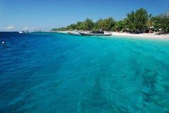 île de gili trawangan Images stock