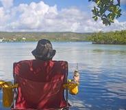 Île de Gilligan's, Porto Rico Photos libres de droits