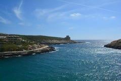 Île de Gozo - baie de Xlendi Photographie stock libre de droits