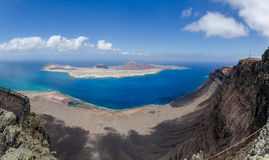 Île de Graciosa Images libres de droits