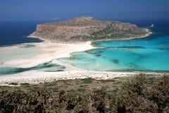 Île de Gramvousa, Crète Photos libres de droits