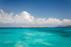 Île de Gramvousa, Grèce Images libres de droits
